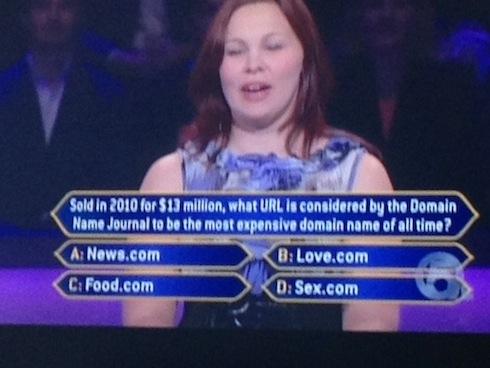 Millionaire sex