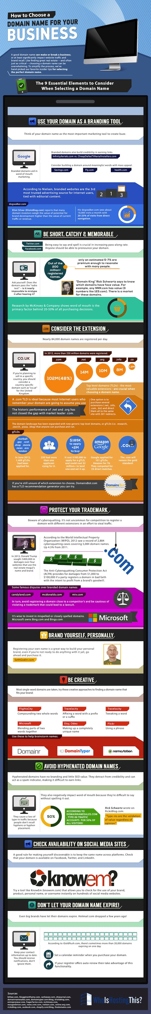 9-essential-elements-choosing-domain-name-infographic