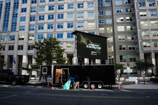 Net Neutrality Billboard