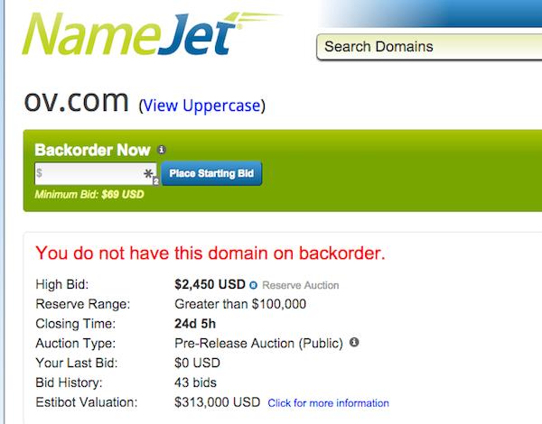 OV.com Auction