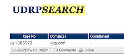 KGP.com UDRP