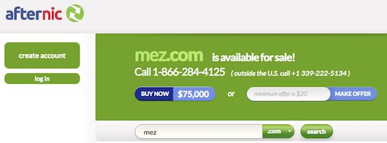 mez-com-afternic